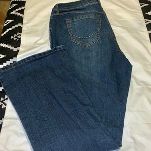 Source of Wisdom Bootcut Denim - Size 16 Torrid